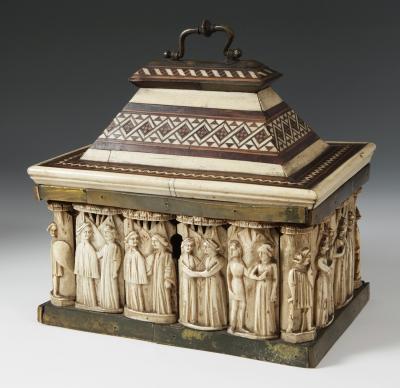 Colección cajas y arquetas del siglo XV y XVI