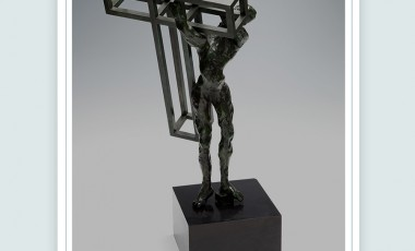 """La escultura de Dali """"Cristo portando la cruz"""" en subasta en Setdart"""