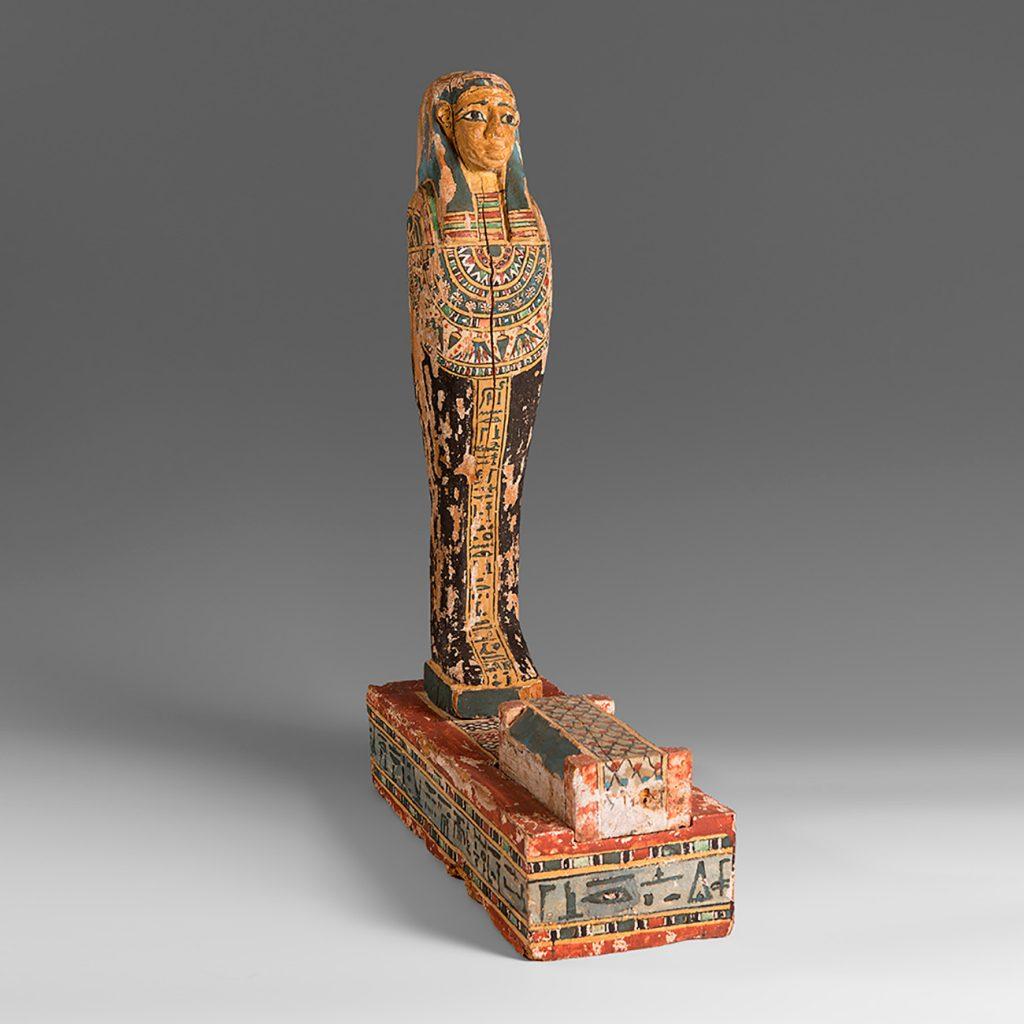 Presentamos en subasta la talla de Ptah- Sokar- Osiris