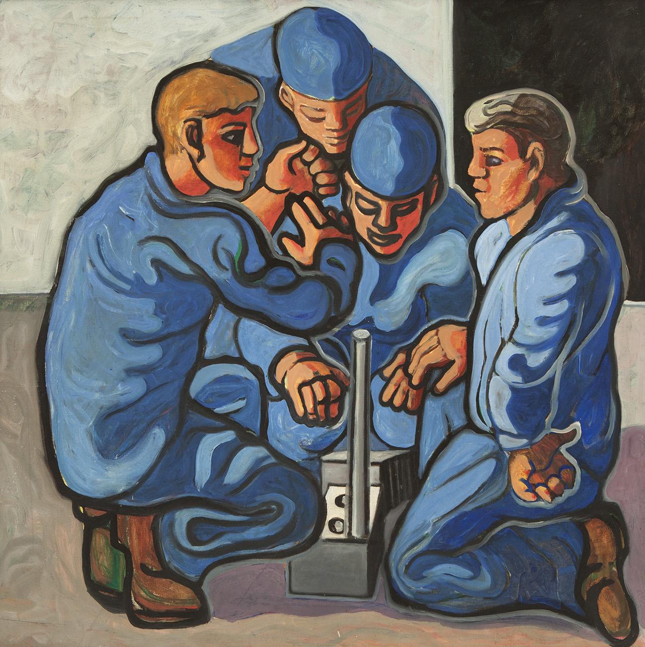 mineros, Asturias, Picasso,