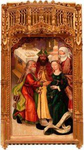 Los desposorios de la Virgen, S XVI