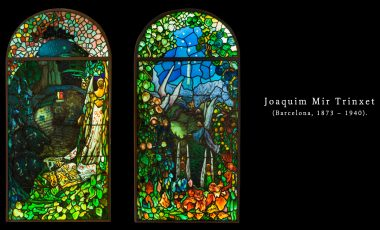 En subasta el arte de la vidriera de Joaquin Mir