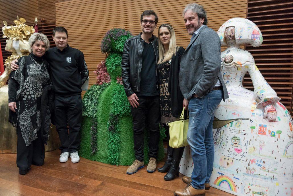 Setdart Madrid con el artista Antonio Azzato