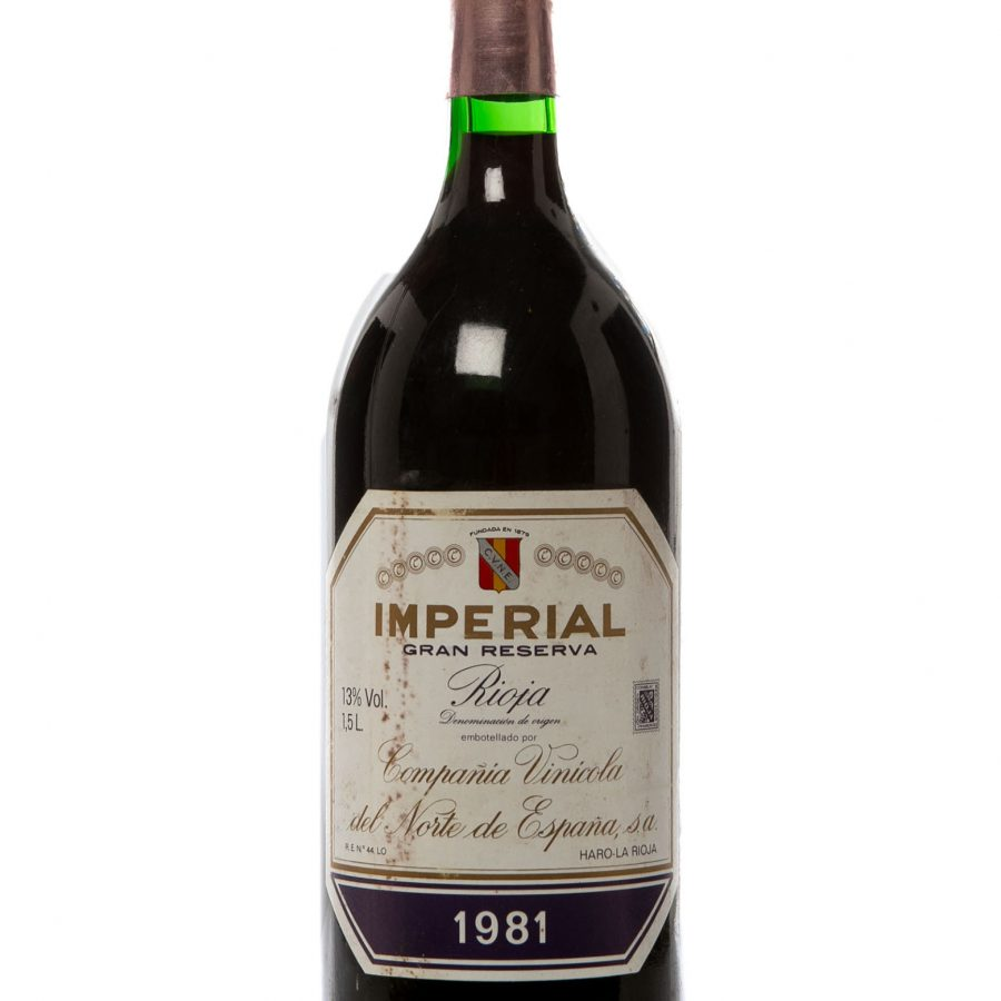 35226056: Botella Magnum Imperial, Gran Reserva 1981.