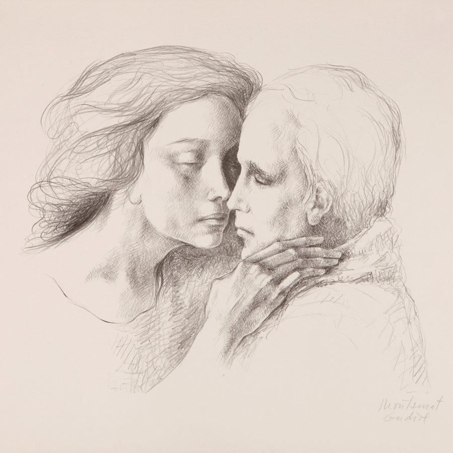 Un dibujo o acuarela es una opción llena de emoción. Desde la delicadeza de los retratos de Montserrat Gudiol hasta dibujos de Miró, Grau Sala o incluso Picasso.