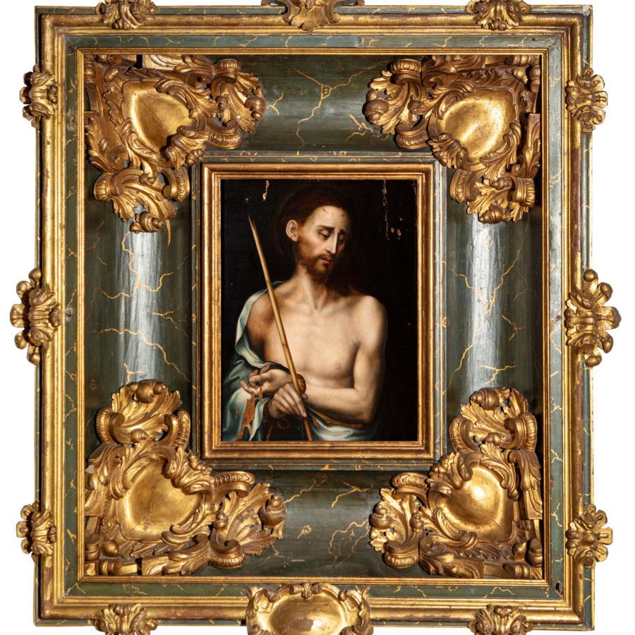 """LUIS DE MORALES (Badajoz, ca. 1510-1586). """"Cristo de los Dolores"""". Subasta el 28 de Mayo."""