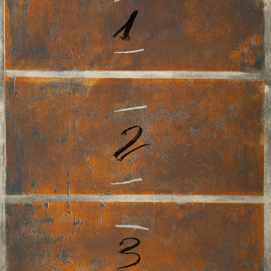 """Lote: 35158685. ANTONI TÀPIES PUIG, (Barcelona, 1923 - 2012). """"Triptic vertical""""."""