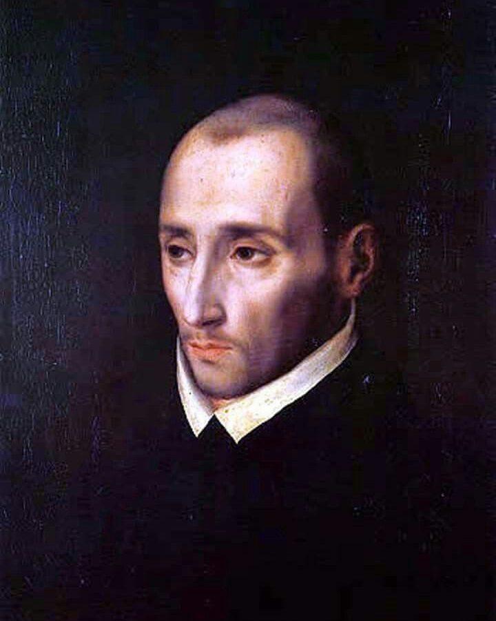 """LUIS DE MORALES """"EL DIVINO"""" (hacia 1515-1586) Autorretrato"""
