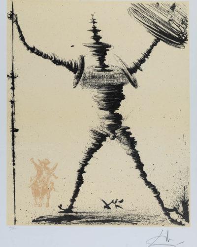 "Lote: 35103932.  ""Don Quixotte"", 1957."