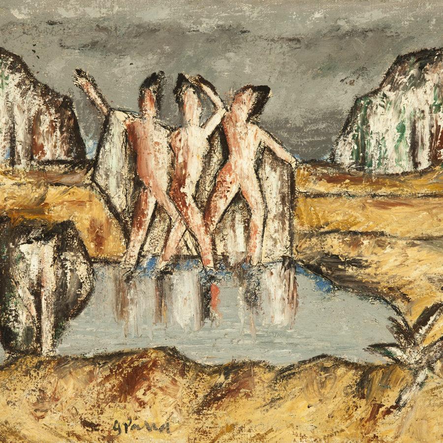 Lote: 35201803. GINÉS PARRA (Zurgena, Almería, 1896 ? París, Francia, 1960).Sin título.
