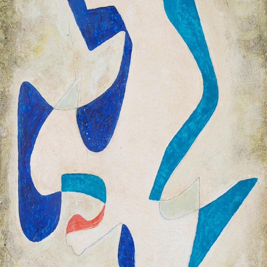 "Lote: 35216098. ERIK ARTHUR OLSON (Suecia, 1901-1986). ""Bebadelse"", 1958."