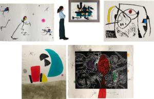 Joan Miró: la libertad de creación en la obra gráfica.