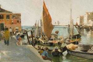 Martin Rico y su idilio con Venecia.